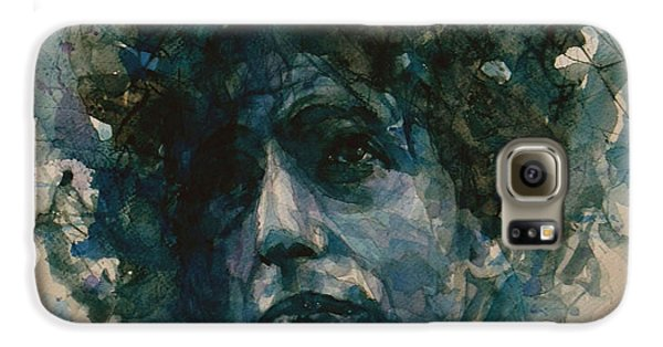 Bob Dylan Galaxy S6 Case by Paul Lovering