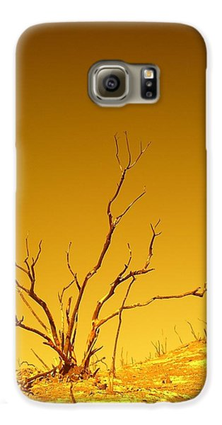 Burnt Bush Galaxy S6 Case