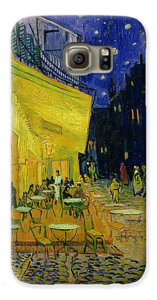 Town Galaxy S6 Case - Cafe Terrace Arles by Vincent van Gogh