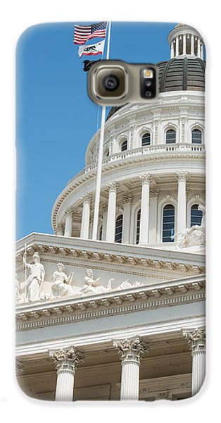 California State Capitol In Sacramento Galaxy S6 Case