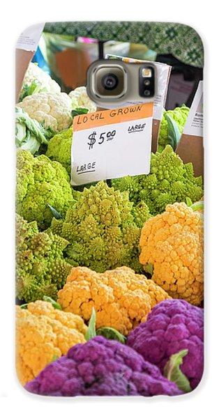 Cauliflower Market Stall Galaxy S6 Case