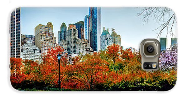 New York City Skyline Galaxy S6 Case - Changing Of The Seasons by Az Jackson