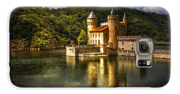 Chateau De La Roche Galaxy S6 Case by Debra and Dave Vanderlaan