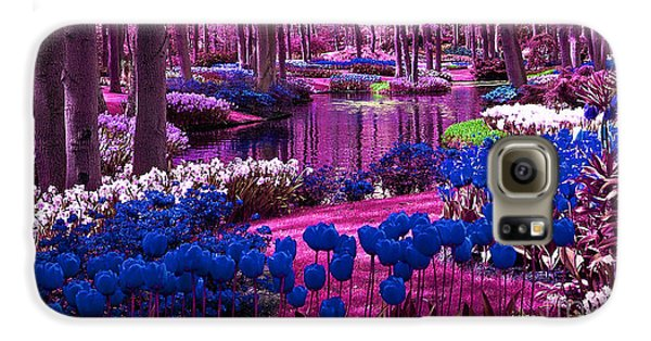 Colorful Flower Garden Galaxy S6 Case