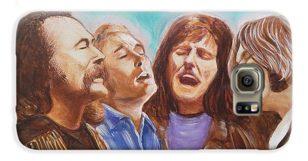 Crosby Stills Nash And Young Galaxy S6 Case by Kean Butterfield