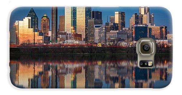 Dallas Galaxy S6 Case - Dallas Skyline by Mihai Andritoiu