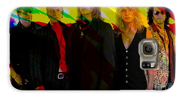 Def Leppard Galaxy S6 Case by Marvin Blaine