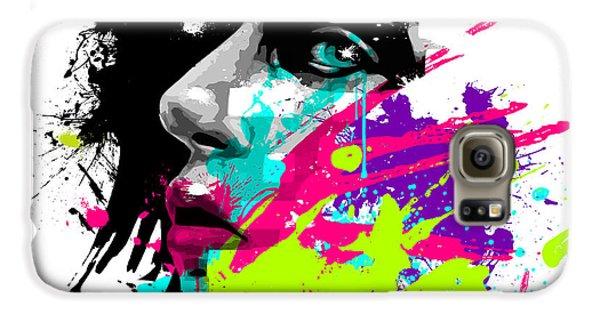 Face Paint 2 Galaxy S6 Case