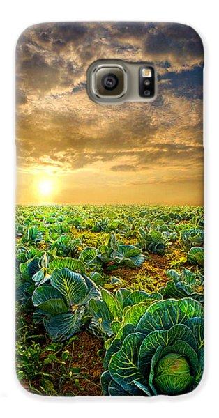Fall Harvest Galaxy S6 Case by Phil Koch