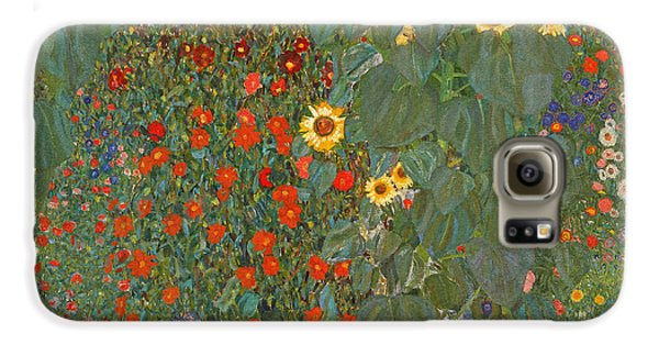Farm Garden With Sunflowers Galaxy S6 Case