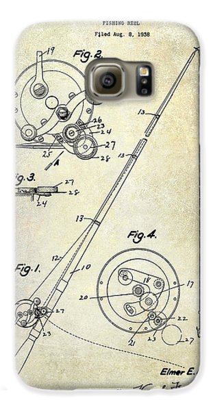 Fishing Reel Patent 1939 Galaxy S6 Case