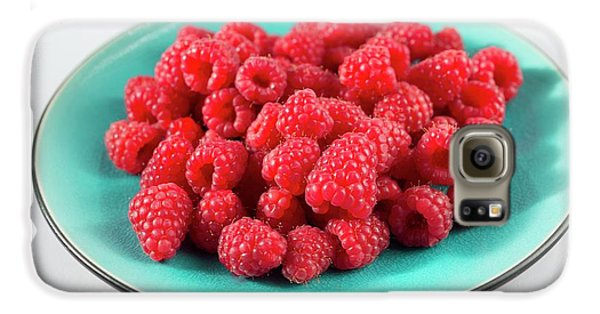 Fresh Raspberries Galaxy S6 Case by Aberration Films Ltd