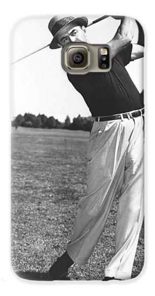 Golfer Sam Snead Galaxy S6 Case by Underwood Archives