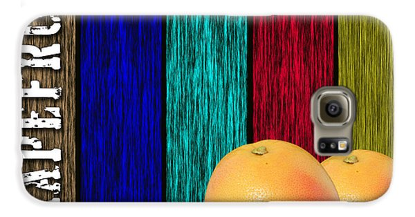 Grapefruit Galaxy S6 Case by Marvin Blaine