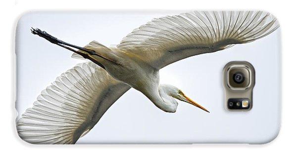 Great Egret Galaxy S6 Case