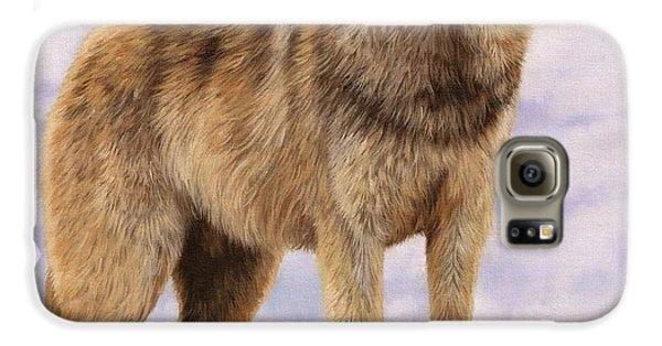 Grey Wolf Galaxy S6 Case
