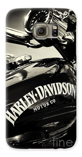 Harley D Sepia Galaxy S6 Case