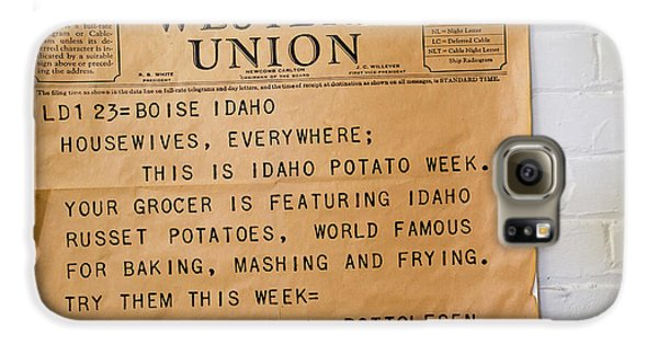 Idaho Potato Museum Galaxy S6 Case by Jim West