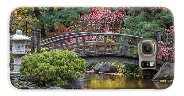 Galaxy S6 Case featuring the photograph Japanese Bridge by Sebastian Musial