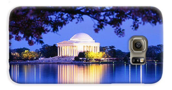Jefferson Memorial, Washington Dc Galaxy S6 Case by Panoramic Images