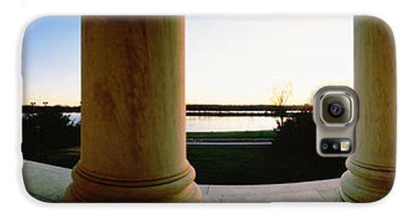 Jefferson Memorial Washington Dc Usa Galaxy S6 Case by Panoramic Images