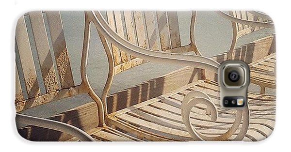 Decorative Galaxy S6 Case - Beach Bar Chairs by Dani Hoy