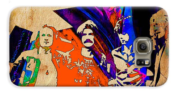 Led Zeppelin Galaxy S6 Case - Led Zeppelin Painting by Marvin Blaine