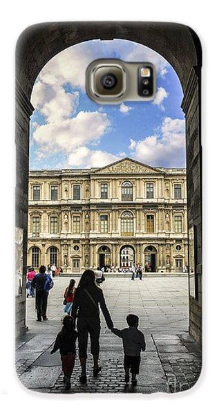 Louvre Galaxy S6 Case by Elena Elisseeva