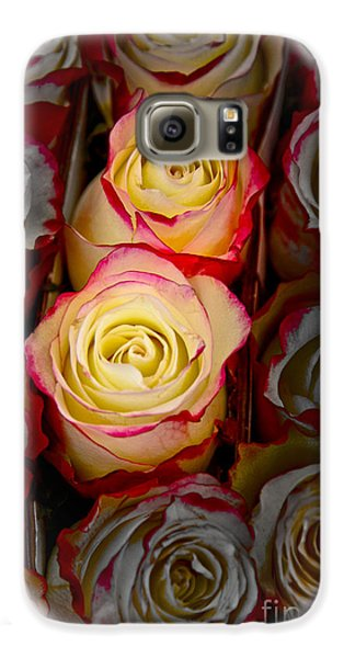 Love Is A Rose Galaxy S6 Case by Al Bourassa