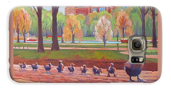 Boston Galaxy S6 Case - Make Way For Ducklings by Dianne Panarelli Miller
