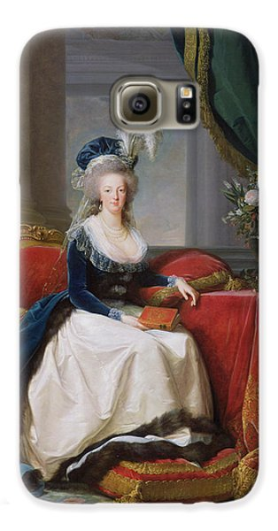 Marie Antoinette Galaxy S6 Case by Elisabeth Louise Vigee-Lebrun