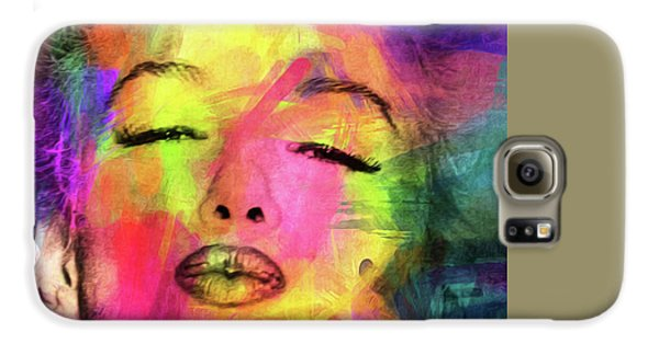 Marilyn Monroe Galaxy S6 Case by Mark Ashkenazi