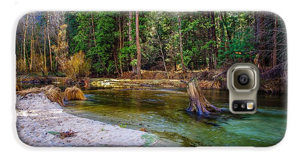 Merced River Yosemite National Park Galaxy S6 Case