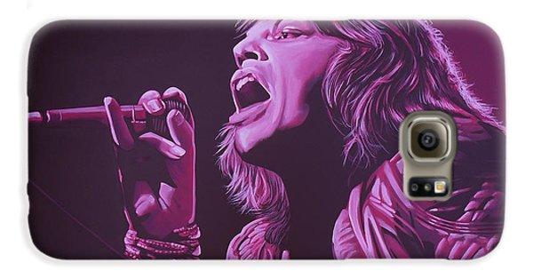 Rolling Stone Magazine Galaxy S6 Case - Mick Jagger 2 by Paul Meijering