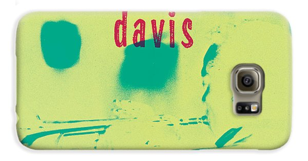 Trumpet Galaxy S6 Case - Miles Davis -  Blue Moods by Concord Music Group