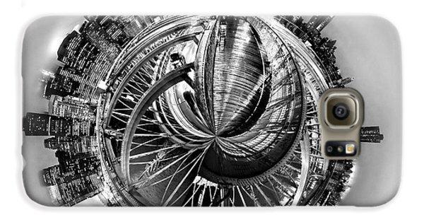 Brooklyn Bridge Galaxy S6 Case - Manhattan World by Az Jackson