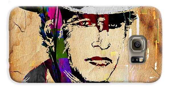 Paul Newman Collection Galaxy S6 Case by Marvin Blaine