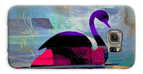 Peaceful Swan Galaxy S6 Case