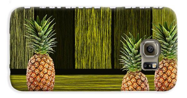 Pineapple Farm Galaxy S6 Case by Marvin Blaine