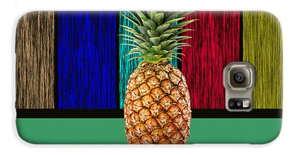 Pineapple Galaxy S6 Case by Marvin Blaine