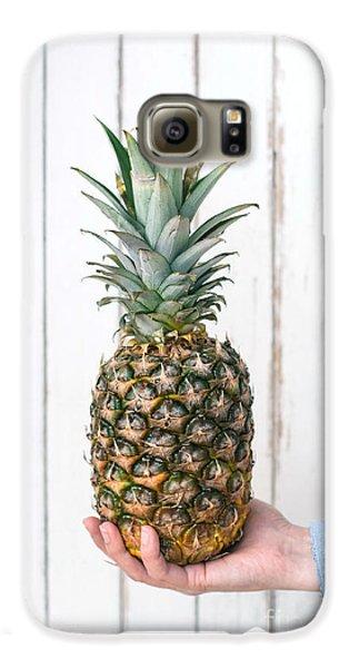 Pineapple Galaxy S6 Case by Viktor Pravdica
