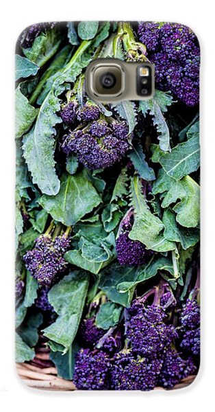 Purple Sprouting Broccoli Galaxy S6 Case by Aberration Films Ltd
