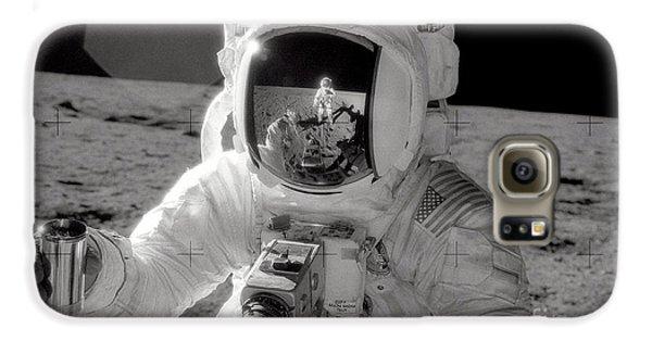 Astronauts Galaxy S6 Case - Reflecting by Jon Neidert