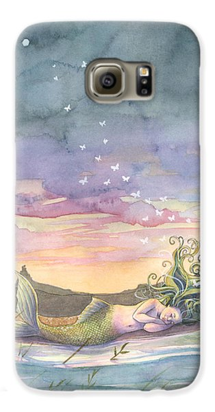 Rest On The Horizon Galaxy S6 Case by Sara Burrier