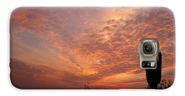 Saguaro Sunset Galaxy S6 Case