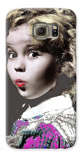 Shirley Temple Publicity Photo Circa 1935-2014 Galaxy S6 Case