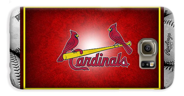 St Louis Cardinals Galaxy S6 Case by Joe Hamilton