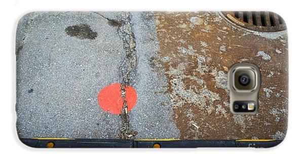 Street Markings  Galaxy S6 Case
