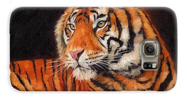 Sumatran Tiger  Galaxy S6 Case by David Stribbling