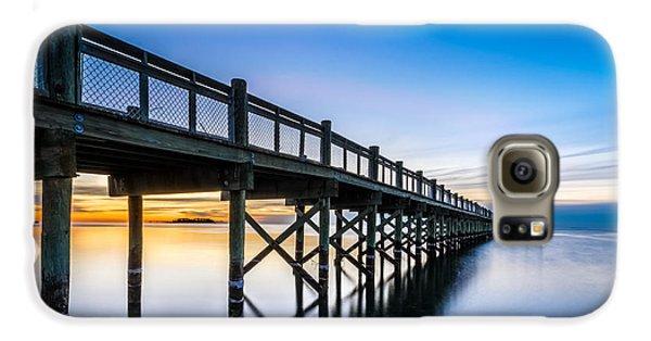 Sunrise Under The Boardwalk Galaxy S6 Case